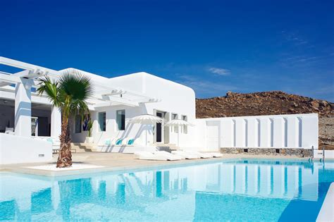 Ornos Beach Mykonos Greece Villas Casol Villas