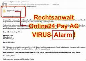 Offene Rechnung Online Payment : achtung vor einer rechnung von stellvertretender rechtsanwalt online24 pay ag codedocu de blog ~ Themetempest.com Abrechnung