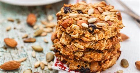 dessert moins de 100 calories recette de cookies aux fruits secs et flocons d avoine 224