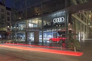 Audi Paris Est : le groupe bauer ouvre les portes d 39 audi city paris l 39 argus pro ~ Medecine-chirurgie-esthetiques.com Avis de Voitures