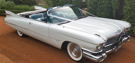 Vintage Convertible Cars by Cadillac Convertible Wedding