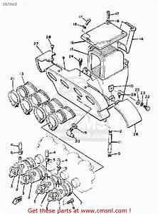 Yamaha Xj650 Maxim 1981  B  Usa Intake