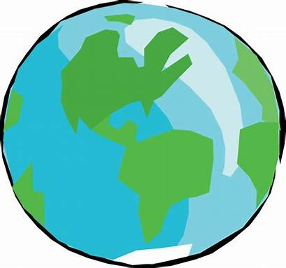 Earth Cartoon Drawing Clipart Transparent Globe Planet