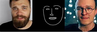 Pix2pix Face2face Face Resolution Medium Detected Generated