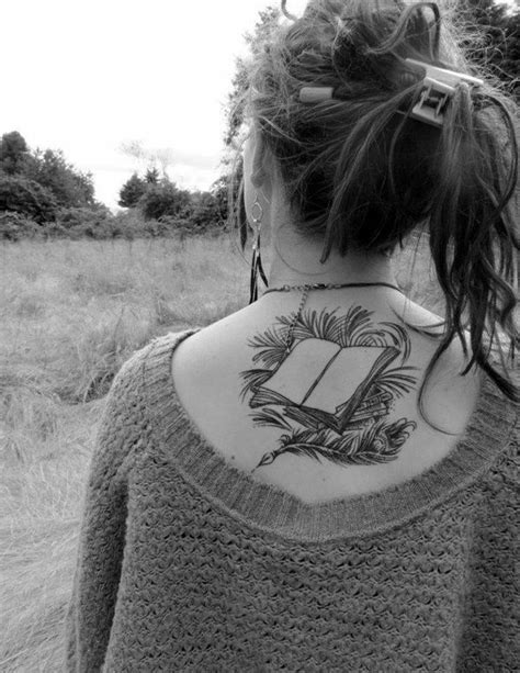 44 Adorable Tattoo Designs for Book Lovers | Book lovers