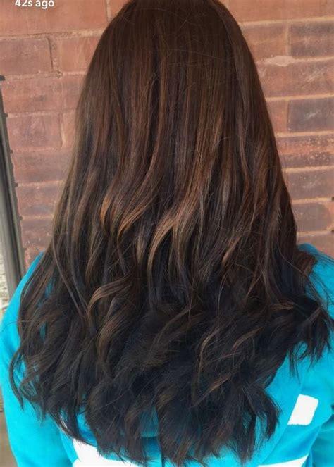 brunette reverse ombre hair hair styles ombre hair hair