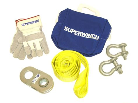 winch accessory kit deluxe superwinch accessories and parts sw2224