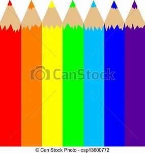 Regenbogen 7 Farben : stock illustrationen von regenbogen sieben farben in ~ Watch28wear.com Haus und Dekorationen
