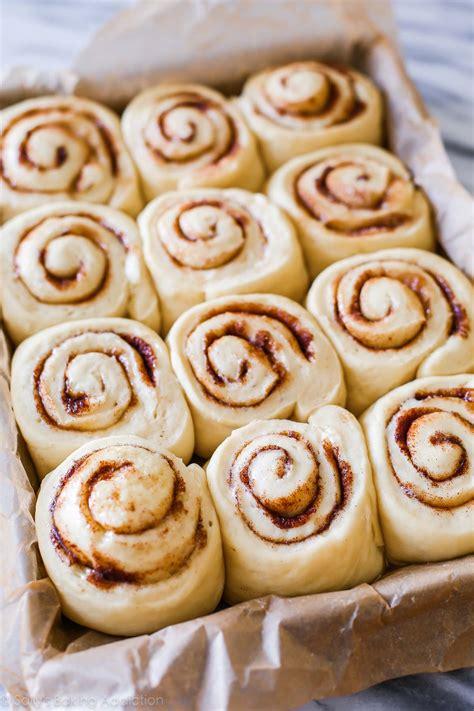 rolls rolls overnight cinnamon rolls sallys baking addiction