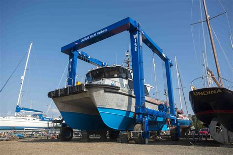 Motor Boats For Sale East Anglia by Suffolk Yacht Harbour Unveils East Anglia S Largest Hoist
