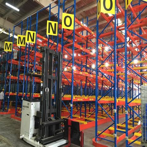 high density vna pallet racking suppliers  factory china ce iso rmi