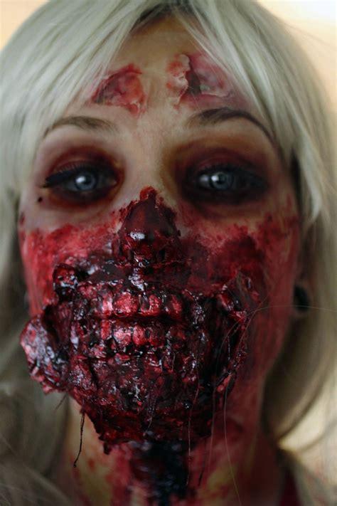 zombie makeup iphone wallpapers female permalink