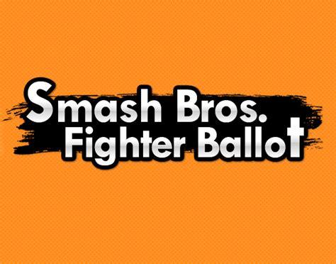 smash bros fighter ballot   meme