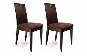 lot de 2 chaises cuisine salle a manger bella coloris With deco cuisine avec lot de chaises