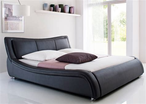 lit design noir massimo 160x200 cm