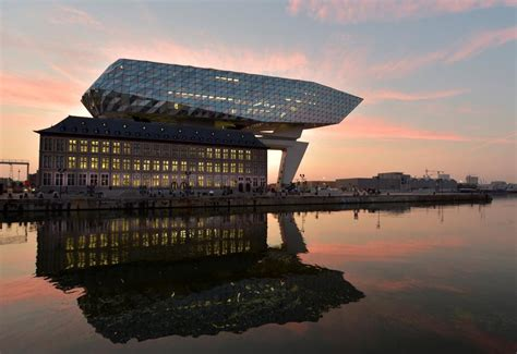 Antwerps New Port House Designed By Zaha Hadid