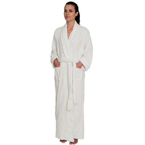 Shower Rob Length Terry Cloth Robe For 39 99 100 Cotton
