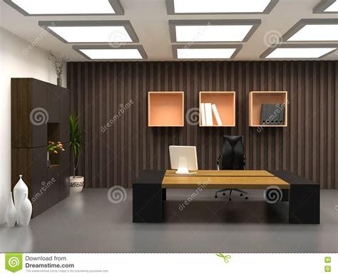 le bureau moderne le bureau moderne photographie stock libre de droits