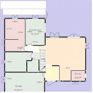 Maison 120m2 Plain Pied : avis plan maison plain pied environ 120m2 12 messages ~ Melissatoandfro.com Idées de Décoration