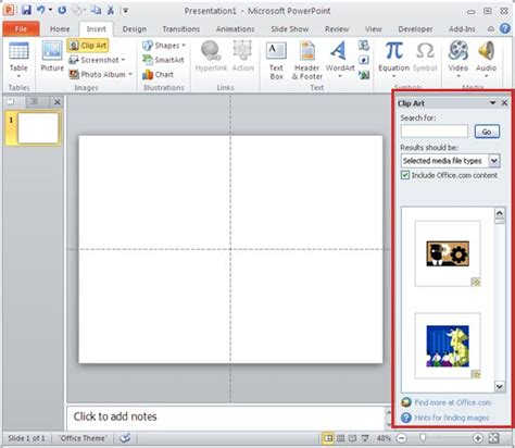 How To Insert Clipart In Powerpoint 2013 Insert From The Clip Pane Into Powerpoint