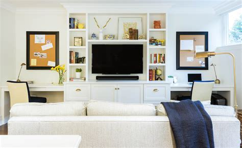 Family Room Built In Cabinets Design Ideas