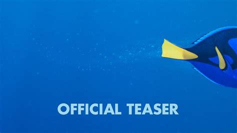 finding dory official  teaser trailer youtube