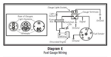 Vdo Gauge Wiring Diagram Diagrams Online