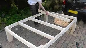 Heavy duty DIY bed - YouTube