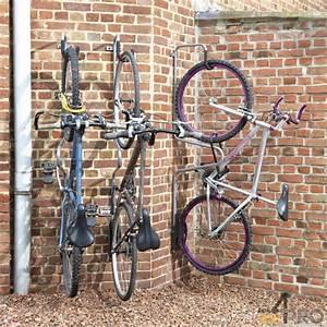 Crochet Velo Mural : crochet v lo individuel antivol 1 v lo 4mepro ~ Farleysfitness.com Idées de Décoration