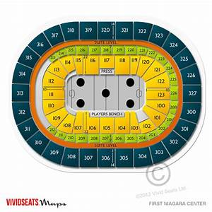 Keybank Center Detailed Seating Chart Keybank Center Tickets Keybank Center Seating Chart