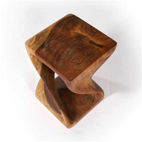hand carved end tables hand carved twist end table dazzling design