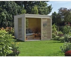 Gartenhaus Modern Kubus : pavillon konsta modern art 264 x 256 cm natur bei hornbach kaufen ~ Whattoseeinmadrid.com Haus und Dekorationen