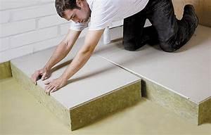 Isolation Des Sols : flumroc sols et plafonds ~ Melissatoandfro.com Idées de Décoration