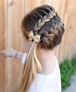 Coiffure Enfant Tresse : tresse enfant 70 id es g niales pour les petites demoiselles cheveux coiffure coiffure ~ Melissatoandfro.com Idées de Décoration