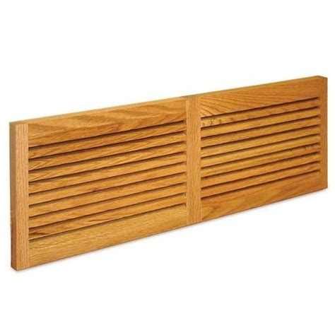 Decorative Cold Air Return Grilles by Grill Works Solid Oak Cold Air Return S