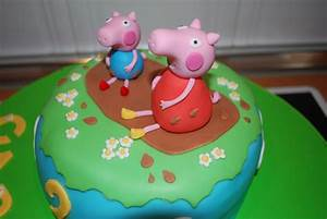 Baby Sugar  Tarta Peppa Pig 2  Jugando En El Barro