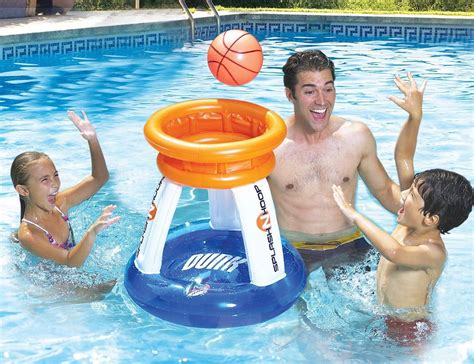 pool basketball slam dunk an interesting pool game for