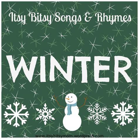 itsy bitsy winter songs amp rhymes 860 | d44fea7d9bc54e9033347a868367f011 preschool songs preschool winter