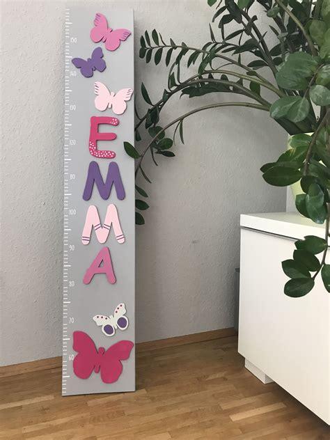Kinderzimmer Für Mädchen Kaufen by Messlatte Mit Name F 252 R Das Kinderzimmer Geschenk Idee