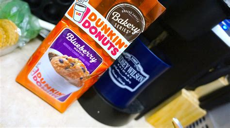 Blueberry, chocolate chip, coffee cake, corn, honey. REVIEW Don't Cry Over Spilled Coffee: Dunkin Donuts Blueberry Muffin Coffee Might Be Worth ...