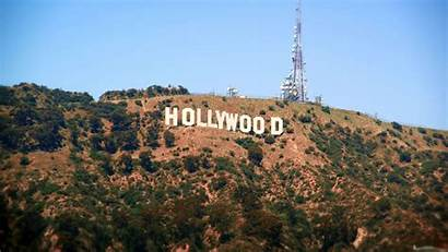 Hollywood Sign Wallpapers Distance Cool Shot Displaying