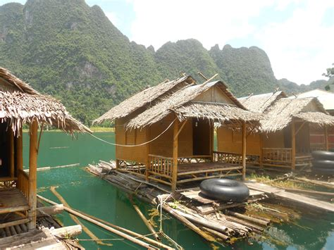 Back To Basics Floating Bungalows At Khao Sok National