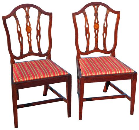 Calvert street baltimore, md 21202. A Pair of Federal Patera Inlaid and Leaf Carved Mahogany Side Chairs; Baltimore, c.1800; like ...