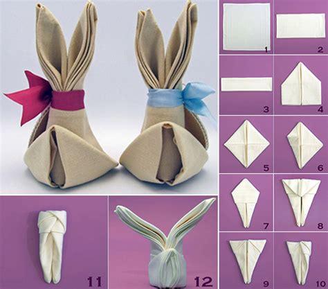 servietten hasen falten servietten falten kreativ und inspirierend freshouse