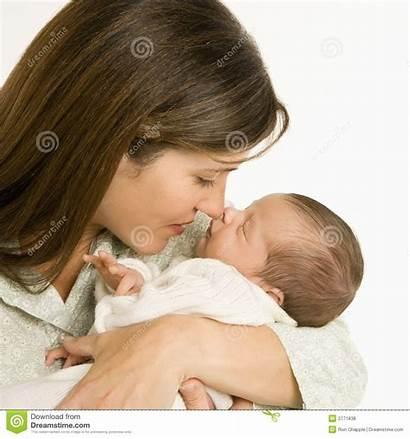Mother Holding Sleeping Dreamstime Royalty Parent Portrait