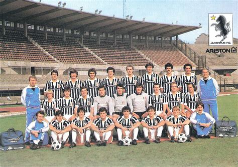 Juventus Football Club 1981-1982 - Wikipedia