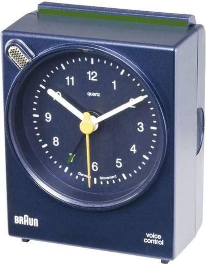 Braun Quarz Wecker by Braun 66008 Quarz Wecker Blau Alarmzeiten 1 Kaufen