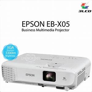 epson eb x05 3lcd xga projector unboxmy With epson document projector