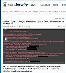 Sflex Rechnung : locky trojaner kinderleicht computer netzwerke zerst ren ~ Themetempest.com Abrechnung