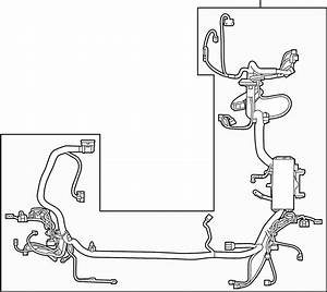 Ford Edge Engine Wiring Harness  Compartment  Trailer  Pkg